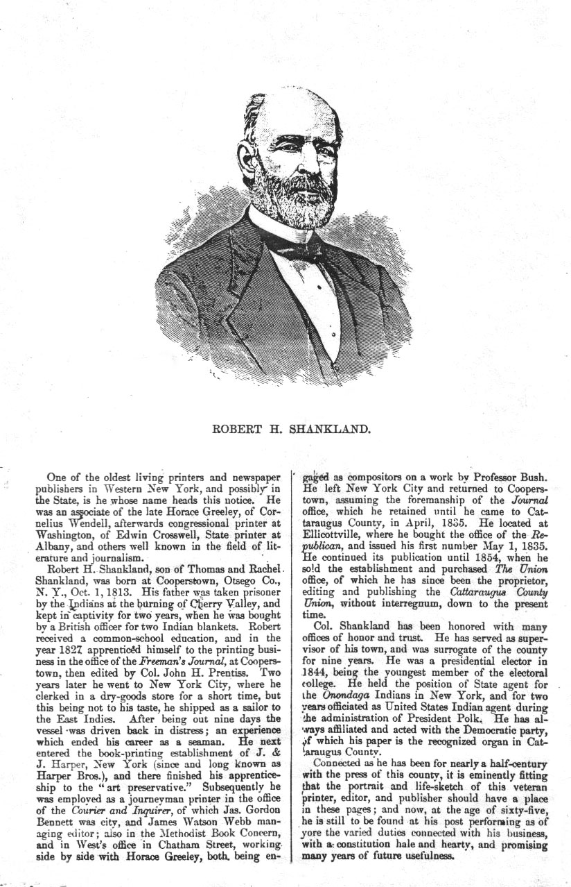 Biography of Robert Henry Shankland